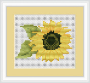 Luca-S Counted Cross Stitch Kit - Sunflower