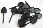 New JVD paper Archery Face Pins Plastic 46mm Straw Foam Target