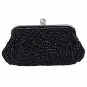 Fawziya S-type Whole Pearl Beaded Women Fashion Handbag