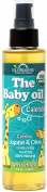 US Organic Baby Oil with Calendula, USDA Certified Organic, Unscented, 150ml
