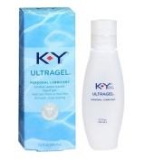 K-Y KY Ultra Gel Personal Unique Water-based Lubricant Liquid Gel : Size 1.5 Oz 44 Ml