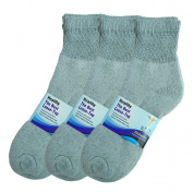 Basico Women/men 12 Pair Diabetic Socks,