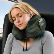 Cabeau Evolution Memory Foam Travel Neck Pillow - The Best Travel Pillow with 360 Head, Neck and Chin Support, Camouflage