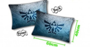 The Legend of Zelda Crest Logo Pillow 60cm x 38cm