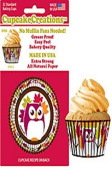 Owl Cupcake Papers, Standard Muffin Liners - 32 count