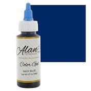 Navy Blue Premium Food Colour Gel, 60mls by Chef Alan Tetreault