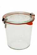 Weck 742 Mould Jar - .5 Litre, Set of 6