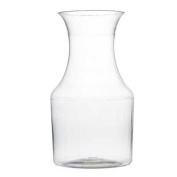 FL-6417 220mlClear Mini Wine Pitcher Carafe 60pc