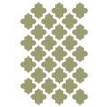J BOUTIQUE STENCILS Moroccan Stencil Reusable Template For Crafting Canvas DIY Wall decor Art furniture