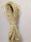 Off White Cotton Waxed Cord 1mm 100yd Bundle