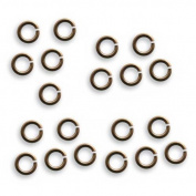 Vintaj Natural Brass Jump Rings 5.25mm Open 18 Gauge