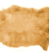 Large Fawn Ginger Brown Top Grade Real Rabbit Fur Pelt Skin Taxidermy