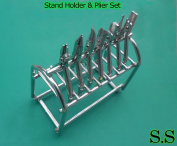 ODM Set Of 7 Pieces Orthodontic Pliers With Stand Holder Dental