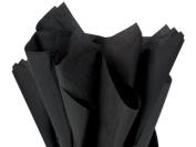 Black Tissue Paper 50cm X 80cm - 48 Sheet Pack