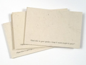 Handmade Seeded Plantable Recycled Note Paper 100 Sheets 15cm x 10cm