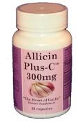 AllicinPlus-CTM 300mg of Garlic Allicin - Vegetarian Capsules
