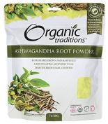Organic Ashwagandha Root Powder 210ml Pkg
