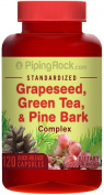 Standardised Grapeseed, Green Tea & Pine Bark Complex 120 Capsules
