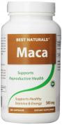 Best Naturals Maca Capsules, 500 mg, 250 Count