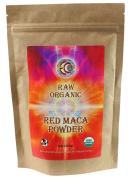 Earth Circle Organics - Raw, Organic, Kosher - Maca Powder Red, 240ml