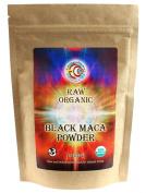 Earth Circle Organics - Raw, Organic, Kosher - Maca Powder Black, 240ml