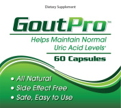 GoutPro Gout Treatment - Lower Uric Acid Levels Naturally - Formulated With Yucca, Garlic, Artichoke Powder, Milk Thistle (Silymarin), And Turmeric To Help Stop Gout Attacks, Relieve Gout Pain, And Prevent Future Attacks
