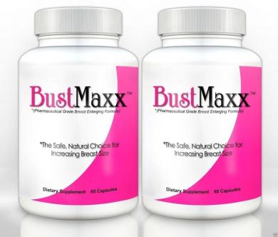 2/Bustmaxx Breast Enhancement Enhancer enlarger pills