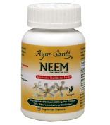Neem-Extract 500mg Per Cap(10% Bitters containing Nimbidine-50 mg*) 60 Veg Caps