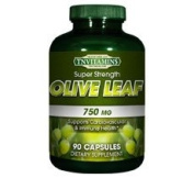 Olive Leaf Extract 750 Mg - 90 Capsules