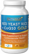 Organic Red Yeast Rice with CoQ10 plus Citrus Bergamot, 120 Vegetarian Capsules
