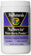 NuNaturals Nustevia White Stevia with Maltodextrin Powder, 350ml