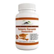 Turmeric Curcumin Extract Pure Standardised to 95% Curcuminoids, Healthy Anti-inflammatory Supplement, 500mg, 120 capsules, Made in USA