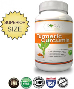 Turmeric Curcumin Supplement Superior 800mg Capsules - 1/3 of a Years Supply - Best Advanced Natural Vegan Antioxidant - Great Herbal Remedy for Anti-inflammatory Treatment - Curcuma Root Extract - Active Curcuminoids - Made in USA - 100% Money Back Gu ..