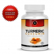 Standardised Turmeric Curcumin Capsules 500mg - Pure Turmeric Root and Extract.