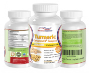 Turmeric Curcumin C3 Complex [®] with BioPerine [®] - Natural Antioxidant and Anti-inflammatory - Liver Heart Brain Digestive System and Skin Supporting Supplement - Pain Relief for Joints Back Knee Neck - Slows the Effects of Ageing - Kosher and Hal ..