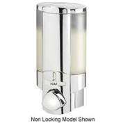 AVIVA 76140-1 Single Bottle Shower Dispenser, Chrome