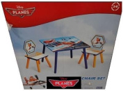 Disney Planes Wooden Table and 2 Chair