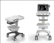 Deluxe Mobile Trolley Cart for Ultrasound Imaging System