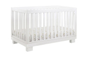 Babyletto Modo 3-in-1 Convertible Crib with Toddler Rail, White