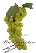 Green Grapes Artificial Fruit Kitchen Counter Bowl