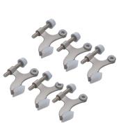 6-pack Hinge Pin Satin Nickel Door Stopper