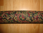 "Door Draught Stopper ""Paisley Lace"" Fragrant Balsam"