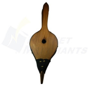 "Fireplace Hearth Woodstove Bellows - EXTRA ""LONG JOHN"" HANDLE"