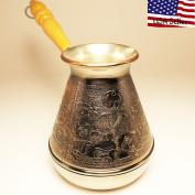 """Turkish Greek Coffee Pot """"East"""" Volume 16.9 Oz - 500 ML"""