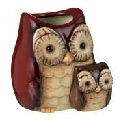 Crimson Hollow Owl Toothpick Holder By Grasslands Road