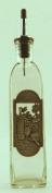 Kitchen Oil Bottle - Metal Wine & Cheese Arrangement