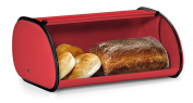 Greenco High Quality Stainless Steel Bread Bin Storage Box, Roll up Lid