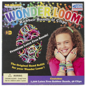 Wonder Loom Rubber Bands And Clips Refill Set-