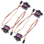 RioRand® 4 x MG90S Metal Geared Micro Tower Pro Servo For Plane Helicopter Boat Car New
