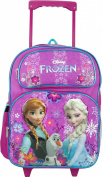 Disney Frozen Rolling Backpack Full Size 41cm Anna, Olaf and Elsa